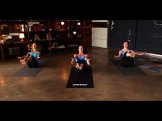 ▶ Jennifer Aniston Yoga Workout   Mandy Ingber's Yogalosophy   Class FitSugar - YouTube