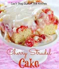 Cherry Strudel Cake