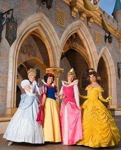 disney princesses, place