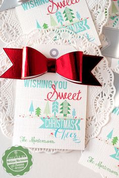 Gift Tags for the Neighbor Treats! -