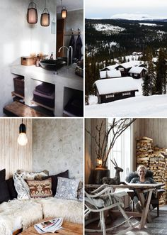 a cosy norwegian winter home | THE STYLE FILES