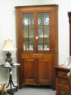 vintag cupboard, southern antiqu, countri cupboard, antiqu furnitur, antique corner cupboards