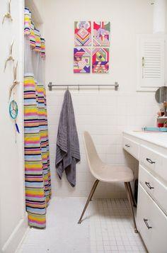 Laura & Art-Filled Austin Início Casa Tour de Ray | Terapia Apartamento