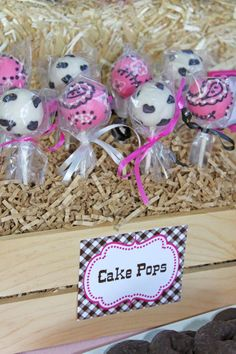 "Cowgirl 5th Birthday Party Planning via Kara's Party Ideas www.KarasPartyIdeas.com  ""So CUTE""  S.C."
