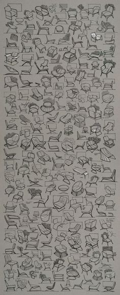 Chair Ideation- Check out my other design and architecture pins at /idgen