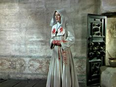 Still from Black Narcissus † #movie #film #still #frame #nun #habit #bloody #nunsploitation #BlackNarcissus