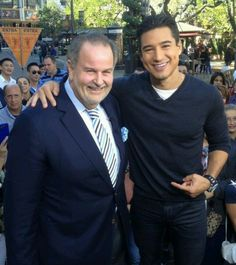 Raul de molina and Mario lopez