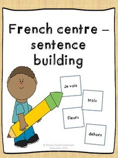 French sentence making/magnetic words - Faire des phrases