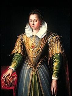 Portrait of a Lady as Astronomy (Portrait of a Venetian Lady), c. 1585. Hood Museum of Art, New Hampshire. Atribuido a Lavinia Fontana