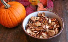 Maple Cinnamon Roasted Pumpkin Seeds (Dairy, Gluten/Grain and Refined Sugar Free)
