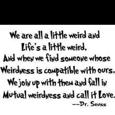 Dr. Seuss says it best