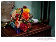 pictures of broach bouquet by Belles Fleures in Nashville