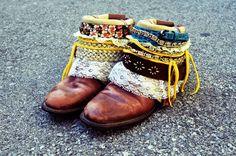 DIY boho belt boot tutorial! I AM making these!!!!
