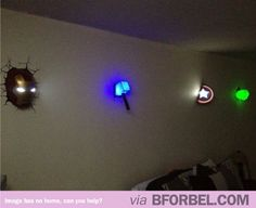 Yup, I need a nightlight now (give me these and Amy's crack in the bedroom wall light)