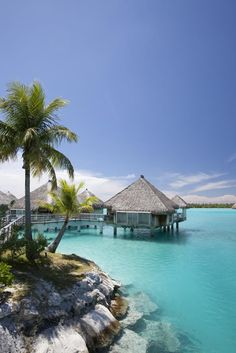 ♂ Life at the beach - The St. Regis Bora Bora Resort