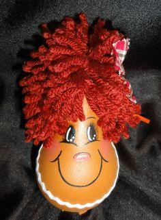 Gingerbread Light Bulb Ornament