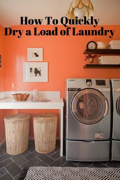 Time-Saving Tip: How To Quickly Dry a Load of Laundry