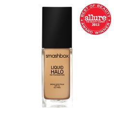 @Smashbox Cosmetics Cosmetics  Liquid Halo HD Foundation won Allure's Best of Beauty Award for Best Foundation for Oily or Acne-Prone Skin - $42