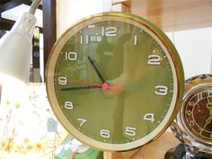 Our cool clocks at a Discover Vintage show