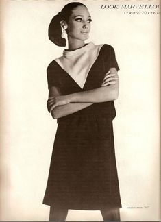 1960s Vogue Pattern #60s #retro #vintage