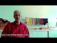 JohnTaylor talks about developing the willpower in Steiner education - YouTube