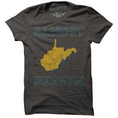 Almost Heaven, West Virginia T-Shirt