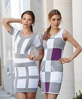 Ravelry: 2200 Intarsia Sheath Dress pattern by Schachenmayr