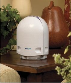 Maintenance-free and silent air purifier that sterilizes air without any chemicals or filters.