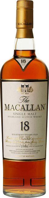 Macallan Single Highland Malt Scotch Whisky 0