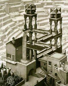 I love Escher's art.
