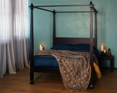 The new Raj India inspired four poster - made in the UK. http://www.naturalbedcompany.co.uk/product-category/four-poster-bed/