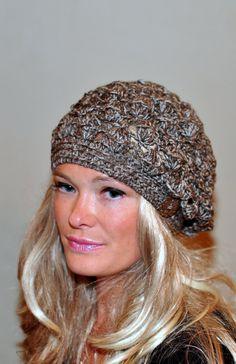 Slouchy Beanie Women Hat Summer Hat Hand Knit Slouchy by lucymir, $59.99