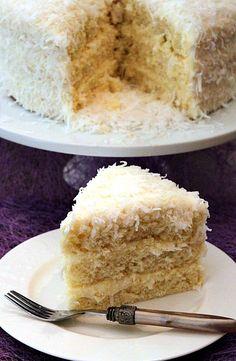 Coconut Cake - Yummy, yummy!