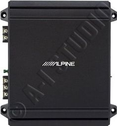 Alpine MRV-M250 Mono subwoofer amplifier - 250 watts RMS x 1 at 2 ohms by Alpine. $86.99. The new V-Power products are now Class D digital amplifiers, resulting in a huge efficiency gain versus their predecessors without draining your battery or your pockets. Class-D provides continuous clean power to your speakers, operating at 80% efficiency far greater than conventional Class A or B amplifiers. Translation: Enjoy cleaner bass, even during extreme power demands.  V-Power ampli...