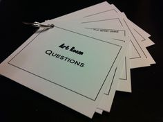 Art question deck