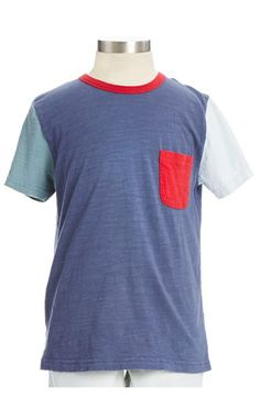 color block t-shirt for little boy