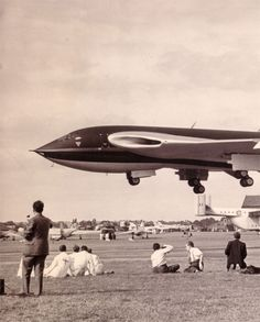 :: WB771 Victor 1st prototype Farnborough 1953 ::