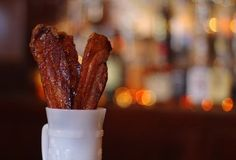 As you work your way up to Honky Tonk's slow-smoked pulled pork, the perfect pig gateway drug is a plate of maple syrup-coated, thick-cut pork belly...aka Bacon Candy.