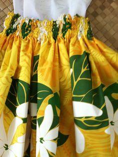 hula pau Hawaiian skirt hula skirt in a bright by SewMeHawaii, $25.00