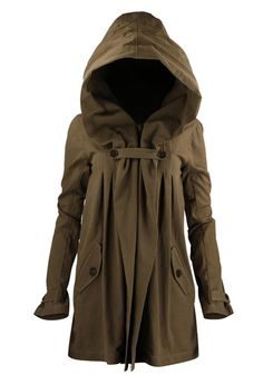 Hooded jacket cape