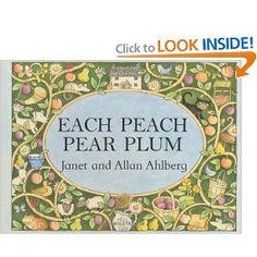 pear plum, peach pear, picture books, kid