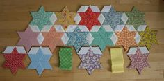 Love this - hand pieced quilt top. someday.