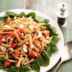 Pasta Spinach Salad
