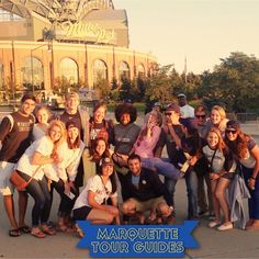 Get to know Marquette's tour guides on Tumblr: http://marquetteadmissions.tumblr.com/   Photo from Lauren Holman