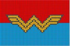 50x50 Superhero logo charts - Batman, Green Lantern, Watchmen, Superman, Spider Man, Dead Pool, Captain America, Wonder Woman, Flash, Iron Man, Thor, Marvel, DC, X-Men, Fantastic 4, & Incredible Hulk