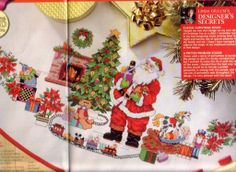 Santa tree skirt