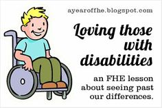 2012 - Wk 11: Loving Those with Disabilities