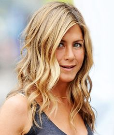 pretty waves beach waves, hair colors, jennifer aniston, the wave, curl, blond, wavy hairstyles, jenniferaniston, style tips