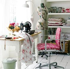 #studio, #sewing room, #craft room