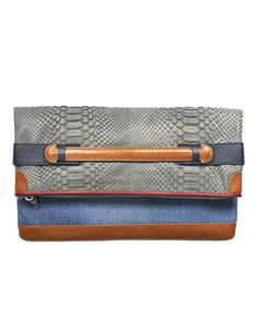 Tommy Hilfiger clutch.  Love the different color combination.